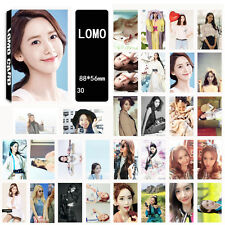 30pics set YOONA YOON A LOMOCARDS KPOP CARD GIRLS GENERATION SNSD