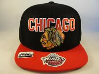 Chicago Blackhawks NHL Reebok Winter Classic Snapback Hat Cap