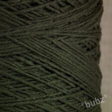 ZEGNA BARUFFA DK Pura Lana Merino Grigio 500g CONO 10 PALLINE DOPPIO Knitting Yarn