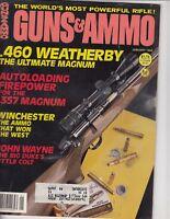 GUNS & AMMO January 1984 .460 Weatherby John Wayne:The Big Duke's Little Colt q5