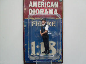 Britannique Police Figure, American Diorama Figurine 1:18, AD-23992