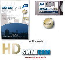 CAM HD TIVU'SAT MODULO DECODER E TV TIVU SAT HD CERTIFICATA COMPATIBILE NUOVA