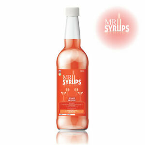 750ml Blood Orange Drink Syrup - Flavouring for Drinks - Cocktail Syrup