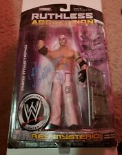 Rey Mysterio Jr Signed Wwe Ruthless Agression Figure Wwe Champion Smackdown