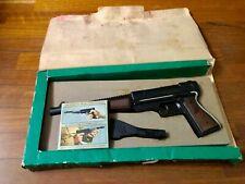 Vecchia pistola giocattolo Tigermatic  Edison serie Matic anni '70 funzionante