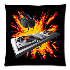 Home Decor Platine DJ Zippered Cushion Case Pillow Case 18x18 Inch Twin Side
