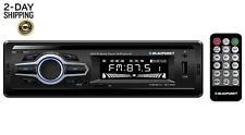 AM/FM Bluetooth Receiver Stereo System Car Auto Marine Indash Radio USB AUX SD