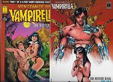 Harris Comics  Vengeance of Vampirella  Lot of 13  Mystery Walk Saga