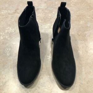 Lauren Conrad Mocha Ankle Boots ,Black ,| New, Womens Size 5