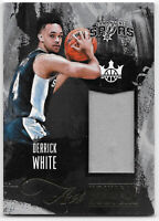 DERRICK WHITE 2017-18 Court Kings Art Nouveau PATCH JERSEY ROOKIE RC SPURS