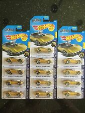 2017 Hot Wheels '68 Corvette Gas Monkey Garage ( E Case ) - Lot of 13