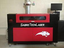 Sabre Tech UK DEMO 50W ST5070 Elite CO2 Laser Cutting Machine Cutter Engraver