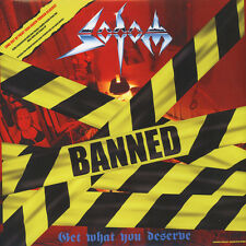 SODOM Get What You Deserve SEALED banned 2xLP 2017