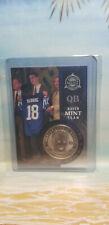"Peyton Manning 1998 Pinnacle Mint Collection Silver #33 with ""SILVER""Coin Rookie"