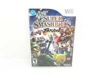 Super Smash Bros. Brawl (Wii, 2008) Complete w/ Manual