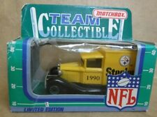 1990 MATCHBOX  PITTSBURGH STEELERS TEAM COLLECTIBLE LIMITED EDITION WHITE ROSE