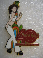 LONDON ,Hard Rock Cafe Pin,SEXY 40th Anniversary Girl