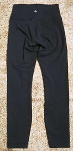 LULULEMON BLACK LEGGINGS PANTS Sz 6