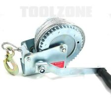 Toolzone 1200LB  Heavy Duty Winch (BOAT, CARAVAN TRAILER, MARINE) DIY Tools