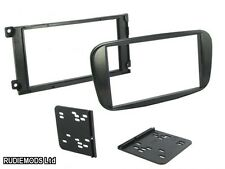 Ford Focus 07-11 Negro Piano, Doble Din coche estéreo kit de montaje de Facia ct23fd33