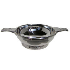 HALLMARKED SOLID SILVER QUAICH BOWL.   ***BRAND NEW SILVER CHRISTENING GIFT***