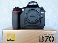 NIKON D70 Digital SLR Camera Body - Shutter Count 5170