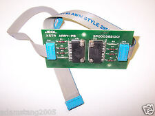 JEOL SP000385(00) XSTR ARRY-PB CIRCUIT BOARD CARD WITH CABLES CARD