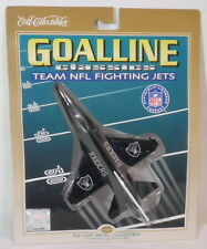 OAKLAND RAIDERS METAL DIE CAST FIGHTING JET VINTAGE ERTL COLLECTIBLES TOY RETRO