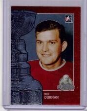 BILL DURNAN 13/14 ITG Lord Stanley's Mug #30 Premium Metallic Card Canadiens
