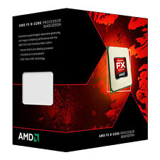 AMD FX 8320 Black Edition, vishera, 8 cœurs, am3 +, 3,5 GHz, mémoire cache totale 16 mo, 125W