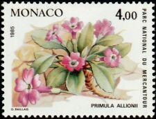 """MONACO N° 1466 """"PLANTES DU MERCANTOUR, PRIMULA ALLIONII""""NEUF xxTTB"""