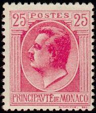 "MONACO N° 80 ""PRINCE LOUIS II 25 C ROSE"" NEUF x TB"
