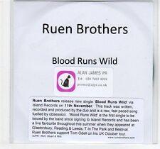 (EF102) Ruen Brothers, Blood Runs Wild - DJ CD