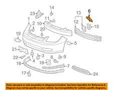 GM OEM Front Bumper-Bumper Cover Bracket Right 15232755
