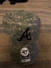 Atlanta Braves MLB Camouflage Baseball Hat NWT