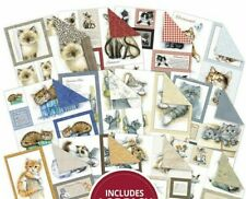 """12 Sheets Hunkydory Picture Perfect Pad - It's a Cats Life 8"""" x 8"""" Paper Pad NEW"""