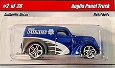 HOT WHEELS 2008 COP RODS EUGENE POLICE DEPARTMENT ANGLIA PANEL TRUCK RARE! HTF!