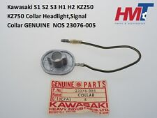 Kawasaki S1 S2 S3 H1 H2 KZ250 KZ750 Head Light Signal Collar 23076-005 NOS JAPAN