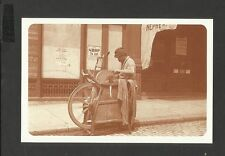 Nostalgia Postcard Italian Curbside Knife Grinder 1892