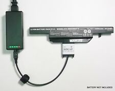 External Laptop Battery Charger for Clevo W650, W650R, W650S, W670R , W650BAT-6