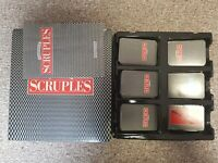 A Question Of Scruples Board Game -  Vintage 1986 • MB Games adult game