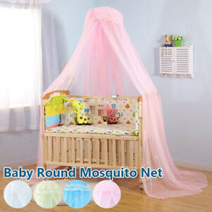 Baby Princess Canopy Toddler Crib Netting Bed Mosquito Net  without Stand