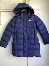Nike women girls down jacket size C155/76 fits Chest80cm height 60-170cm RRP$270
