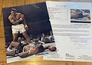 + Muhammad Ali Signed Auto Autograph 8x10 Color Photo Cassius Clay HOF