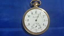 1907 Antique Illinois 21j 16s Open Face Pocket Watch for parts