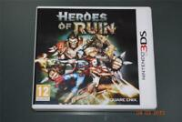 Heroes of Ruin Nintendo 3DS UK Game **FREE UK POSTAGE**