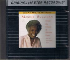 Sullivan, Maxine Sings the Music of Burton Lane MFSL Silver (Alu) CD OOP