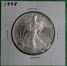 1998 BU American Silver Eagle Dollar Uncirculated ASE US Mint Bullion Coin