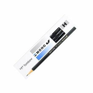 Japanese Tombow Pencil MONO- JSeries Pencil  [H] 1 dozen 0823