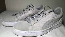 PUMA Men's Suede Classic Emboss V2 Sneaker/Grey  UK8